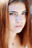 Sad girl closeup Royalty Free Stock Photography