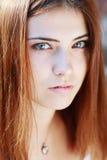 Sad girl closeup Royalty Free Stock Photography