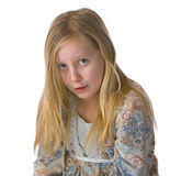 Sad Girl Crying Royalty Free Stock Photos