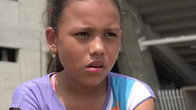 Sad Girl, Depressed Youth, Feelings stock video