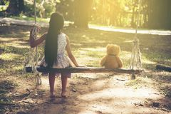 sad little girl alone park stock photos download 368 images