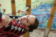 Sad girl in hammock   Royalty Free Stock Photo