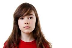 Sad girl. Portrait of sad young girl Royalty Free Stock Photography