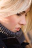 Sad girl. Romantic girl. A small series of photos. Elena Stock Photos