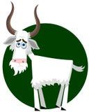 Sad goat Royalty Free Stock Image
