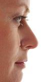 SAD gråta kvinna Arkivbild