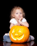 Sad Halloween Royalty Free Stock Images