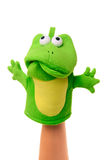 Sad Hand puppet Royalty Free Stock Photography