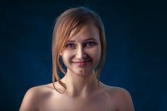 Sad happy woman Royalty Free Stock Photos