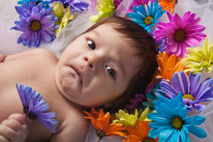 Sad Infant Royalty Free Stock Image