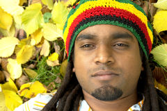 Sad Jamaican Royalty Free Stock Photos