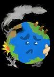 SAD jord arkivbild
