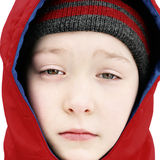 Sad Kid Face Royalty Free Stock Images