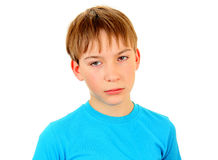 Sad Kid Portrait Royalty Free Stock Images