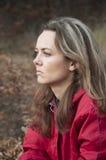 SAD kvinna Fotografering för Bildbyråer