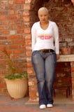 SAD kvinnabarn Royaltyfri Fotografi