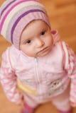 SAD liten flicka Royaltyfri Bild
