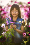 Sad little asian girl Royalty Free Stock Photography