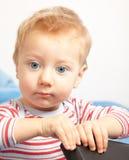 Sad little boy Royalty Free Stock Image