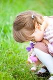 Sad little girl Royalty Free Stock Image