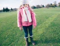 Sad little girl Royalty Free Stock Photo