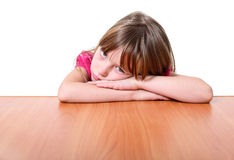 Sad little girl. Stock Photography
