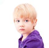 Sad little girl portrait Royalty Free Stock Image