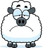 Sad Little Lamb Stock Image