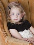 Sad little model Stock Photos