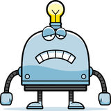 Sad Little Robot Royalty Free Stock Images