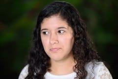 Sad looking girl Stock Photography