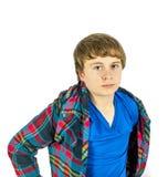 Sad looking teenage boy Royalty Free Stock Photos