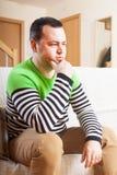 Sad man royalty free stock photography