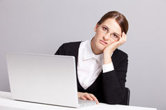 Sad manager Stock Images