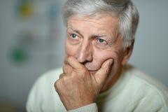 Sad mature man Royalty Free Stock Images