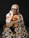 The sad mummy in the studio Stock Images