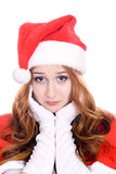 Sad and nice santa Royalty Free Stock Image