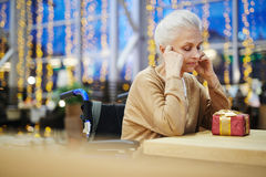 Sad occasion Royalty Free Stock Images