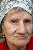 Sad old woman Royalty Free Stock Photography