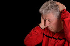 Sad older man Royalty Free Stock Images