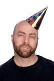 Sad party man Royalty Free Stock Image
