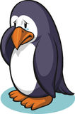 Sad Penguin Stock Photography
