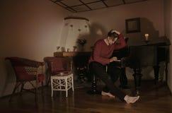 Sad Piano Composer Royalty Free Stock Photos