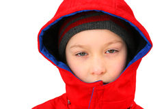 SAD pojke Royaltyfri Fotografi