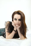 Sad pretty woman Royalty Free Stock Image