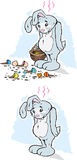 Sad Rabbit Stock Image