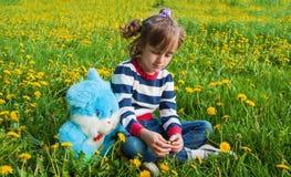 Sad, resentful child Stock Photography