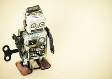 Sad robot Royalty Free Stock Photography