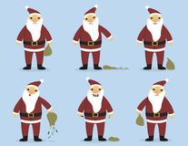 Sad_Santa Imagem de Stock Royalty Free