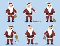Sad_Santa illustration libre de droits